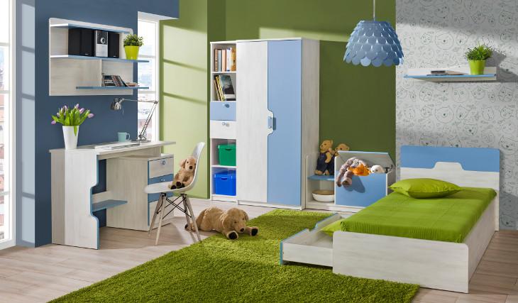 Trendy detská izba NUKI Zostava 2