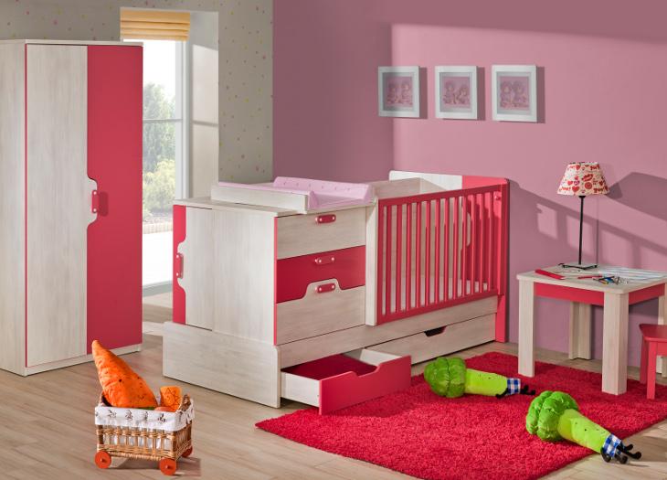 Moderná detská izba NUKI Zostava 6