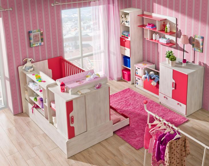 Detská izba pre bábätko NUKI Zostava 8
