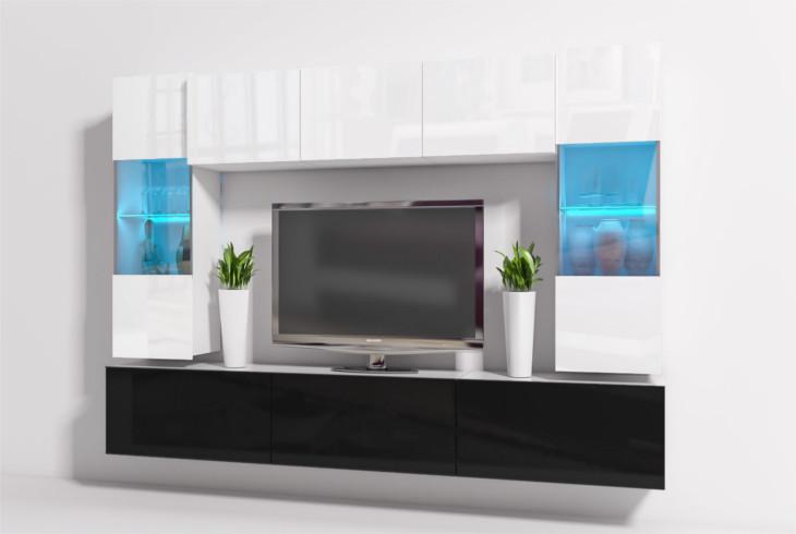 Obývacia stena ONYX 12A s LED osvetlením