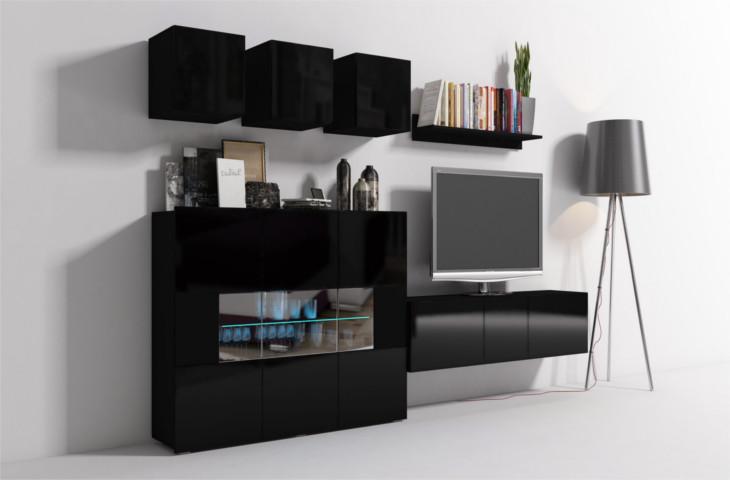 Lacná obývacia stena ONYX 1B