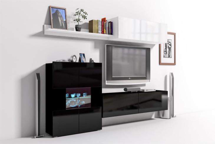 Elegantná obývacia stena ONYX 3C