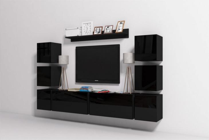 Moderný obývacia stena ONYX 8B