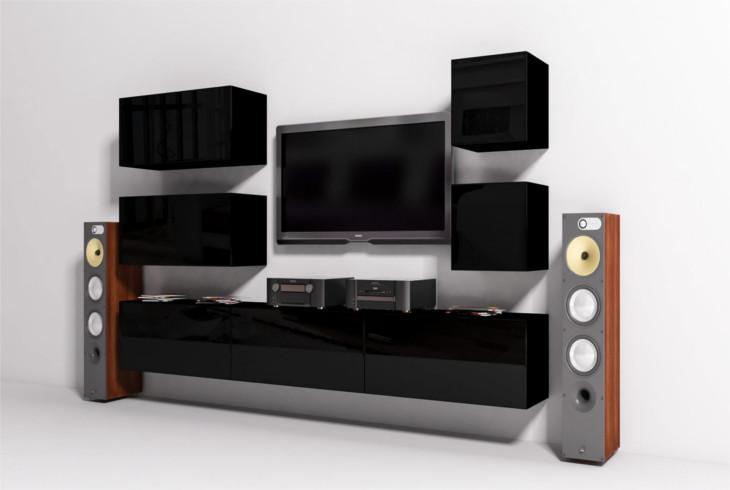 Luxusná obývacia stena ONYX 9B
