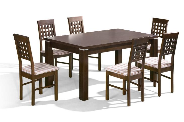 Stôl Premier + stoličky P-16 (1+6) - Súprava M10
