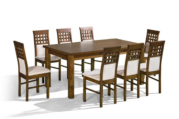 Stôl Prezydent 1 + stoličky P-15 (1+8) - Súprava M9 - viac farieb