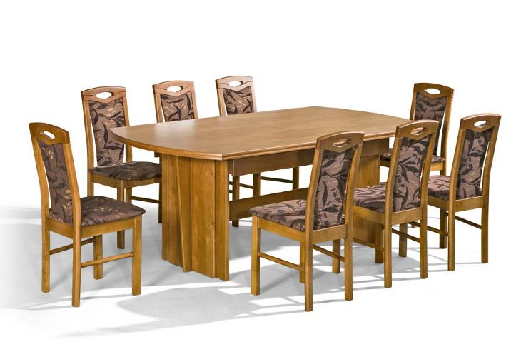 Stôl Rafał + stoličky P-18 (1+8) - Súprava M22