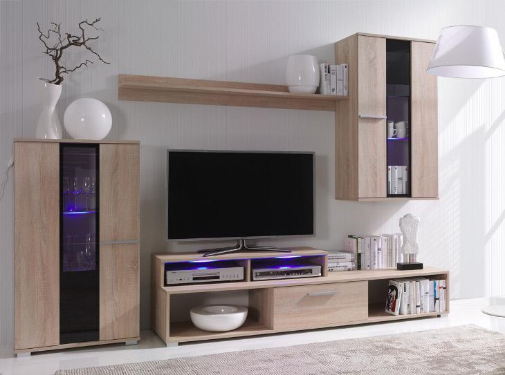 Moderná obývacia stena ROCO 4