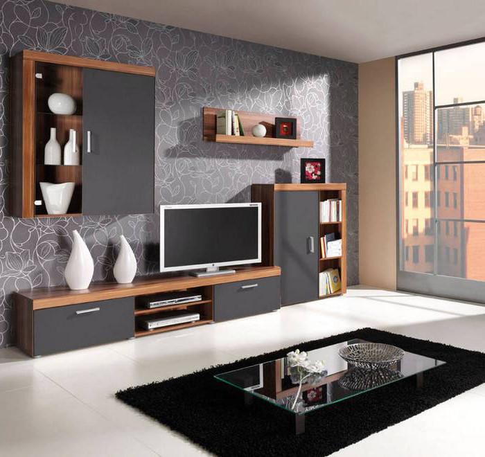 Moderná obývacia izba SAMBA zostava 1 grafit