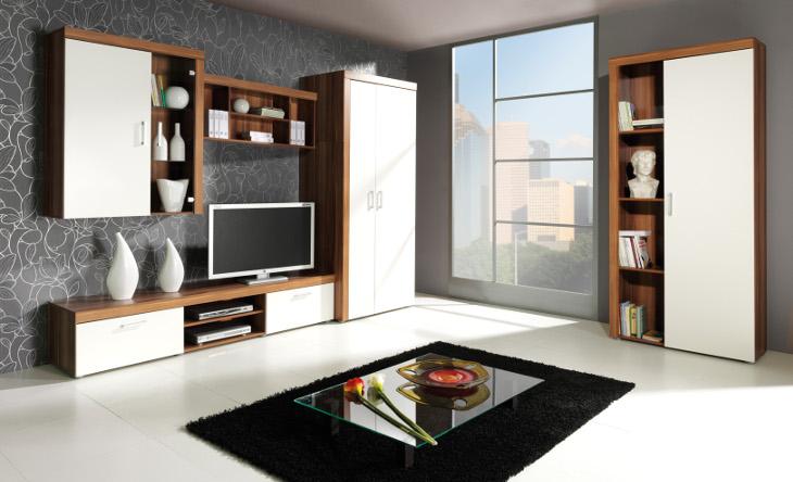 Moderný nábytok do obývacej izbySAMBA zostava 4 biely