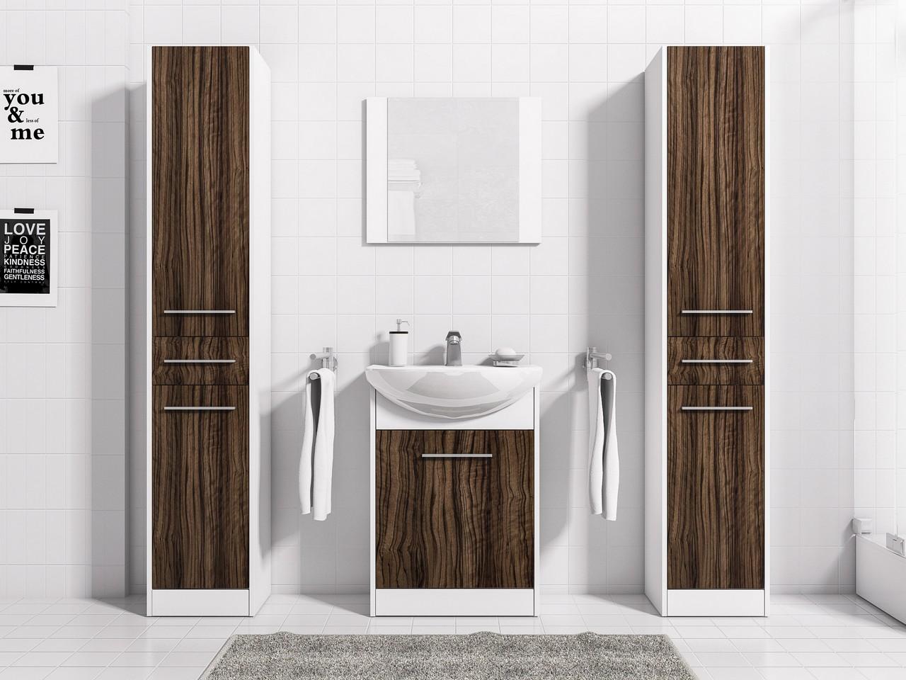 Lacný kúpeľňový nábytok SLIM MAX 3