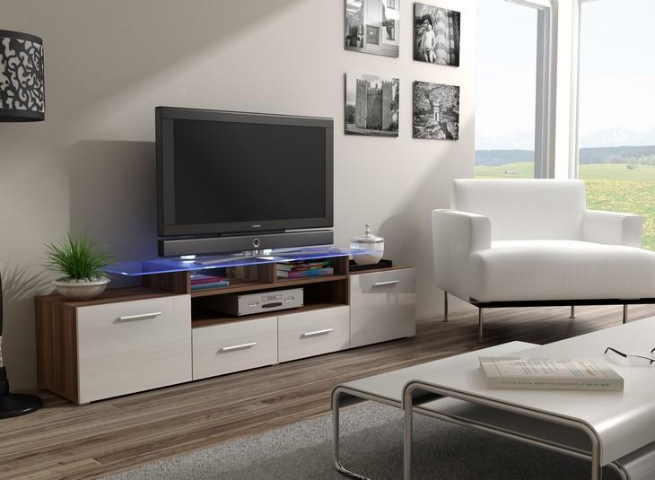 Elegantná komoda pod televízor/rádio EVORA 14