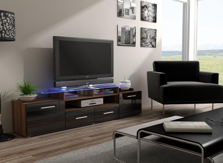 Nadčasová komoda pod televízor/rádio EVORA 13