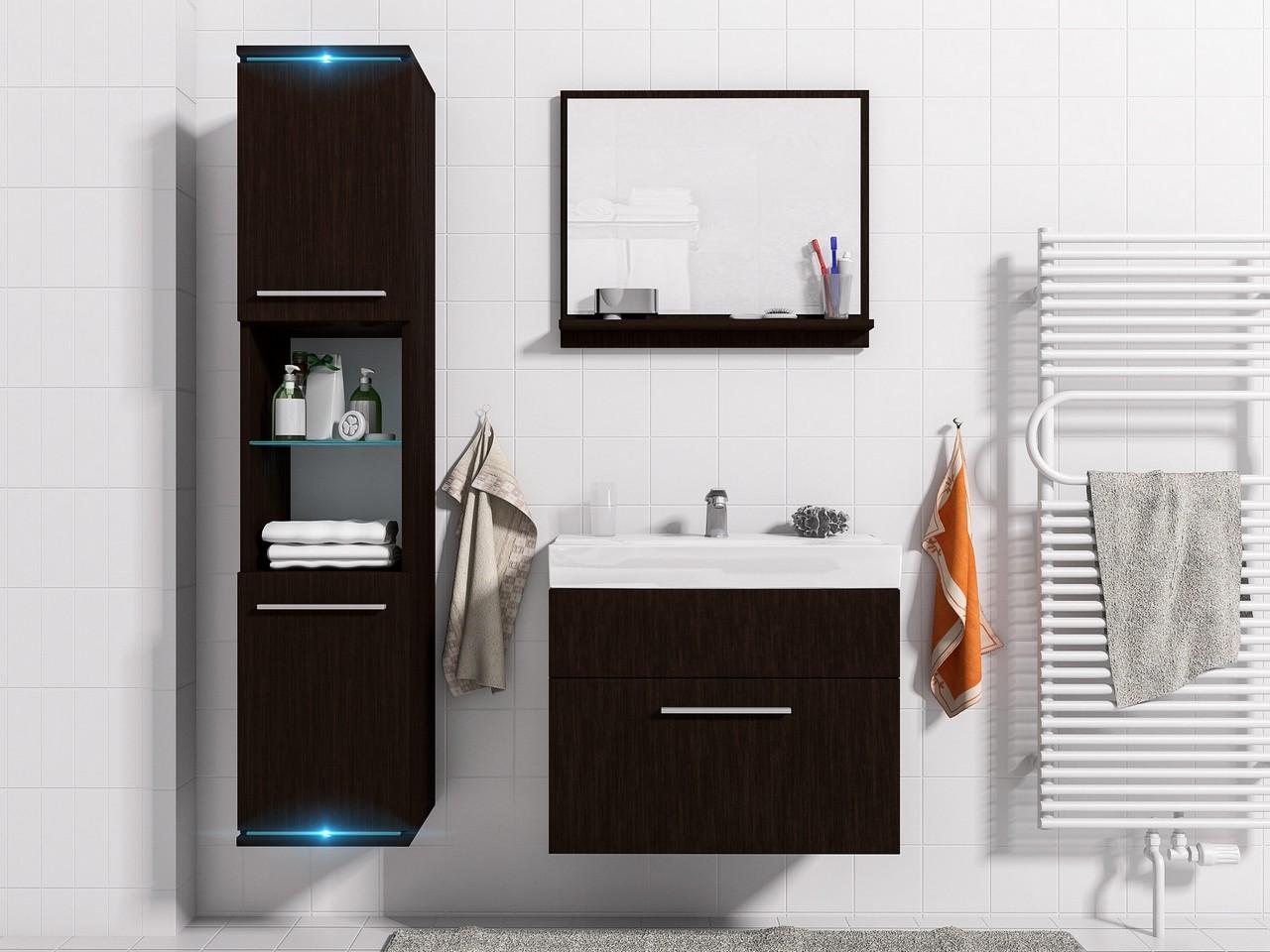 Kúpeľňový nábytok s LED osvetlením SOLO 1