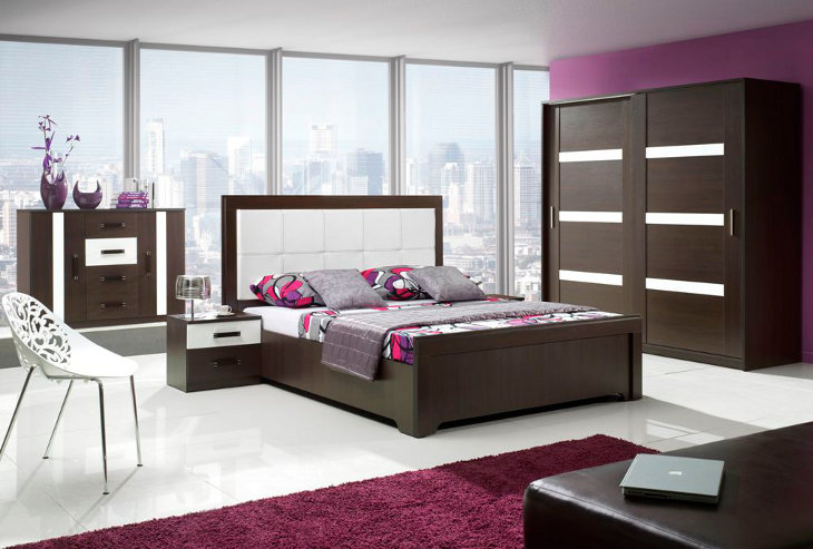 Moderná a lacná spálňa ORLANDO zostava 1