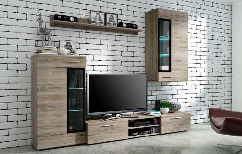 Lacná obývacia stena ELIAN san remo