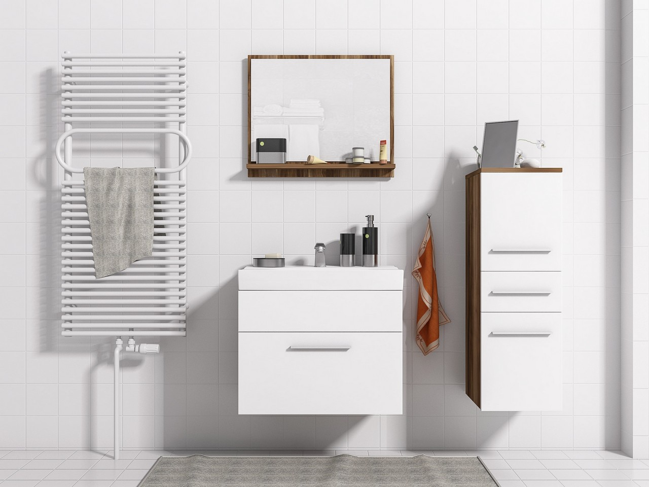 Moderná kúpeľňa TIPO MINI 4