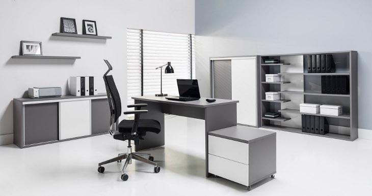 Nábytok do pracovne - pracovná stena ZONDA 14