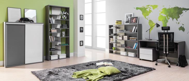 Moderný nábytok do detskej izby ZONDA Zostava 5
