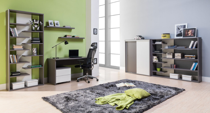 Moderný nábytok do pracovne ZONDA Zostava 9