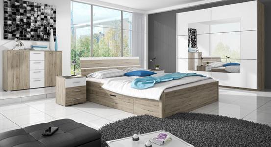 Malá spálňa bez okna - inšpirácie